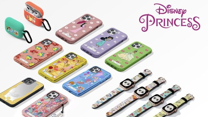 The mobile phone accessory brand Casetify has announced its new product line for the Apple brand in collaboration with Disney Princess
